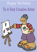 Artist - Greeting Card
